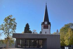 Bild Gemeindehaus Huchenfeld; Quelle: ©EvKirchePF